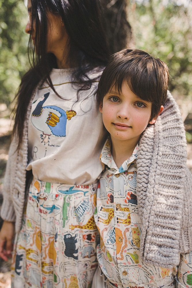Online store of natural and organic clothing that brings a message for children from the bottom of the heart, of ethical and sustainable production. Local manufacturing in Spain.